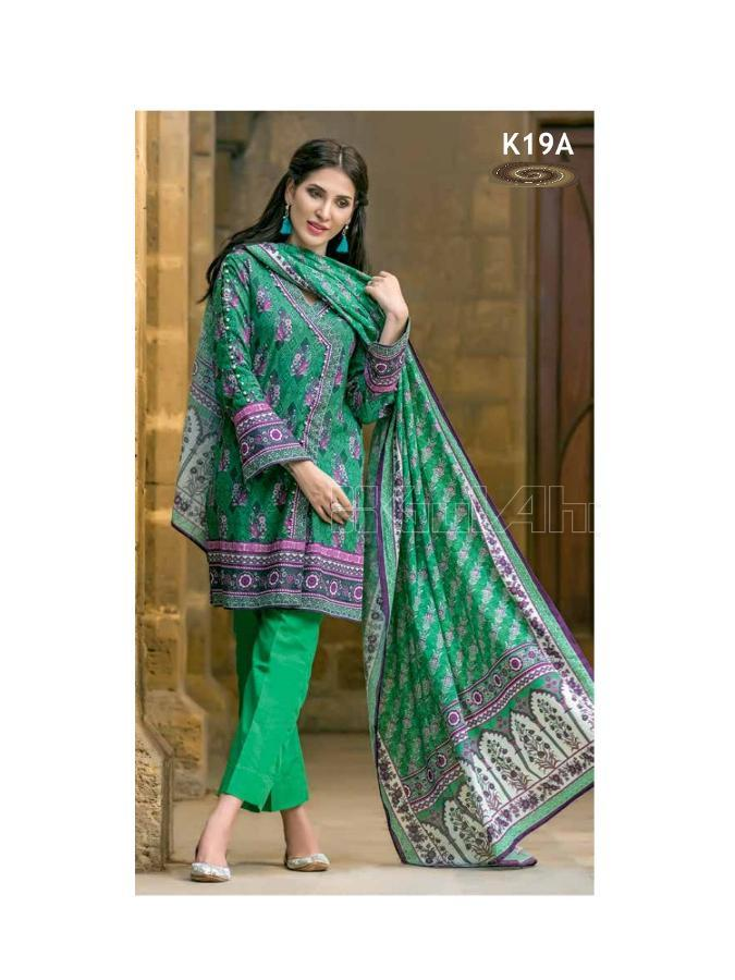 Gul Ahmed Winter 2017 Suit k19A