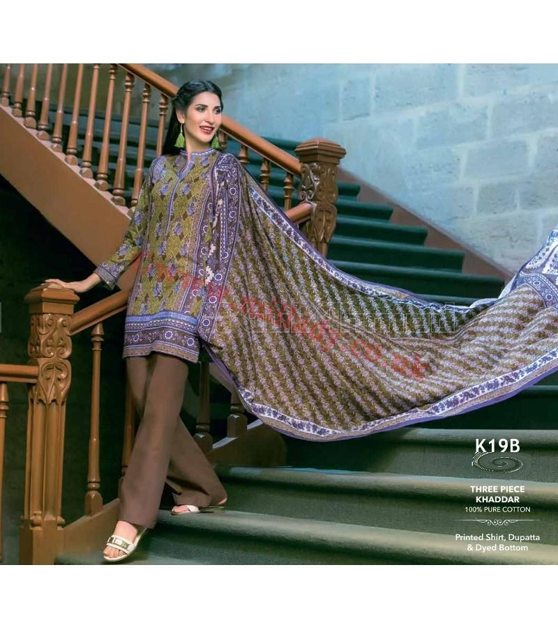 Gul Ahmed Fall Winter Suit K19B