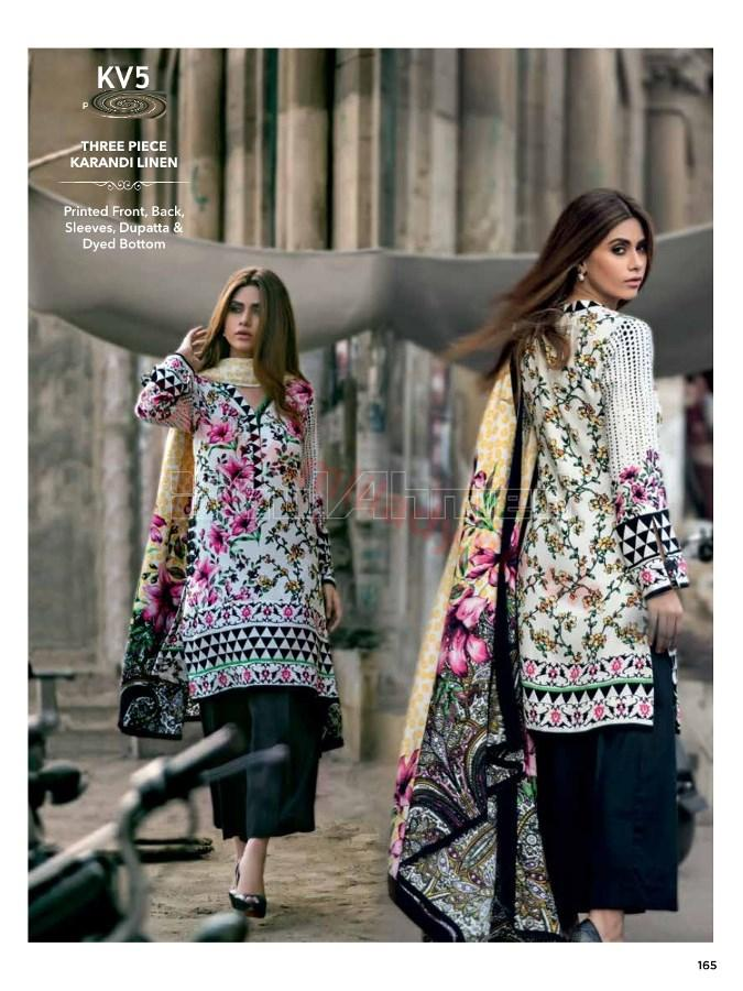 Gul Ahmed Winter Suit KV5