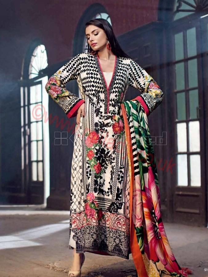 Gul Ahmed Fall Winter Suit SW29