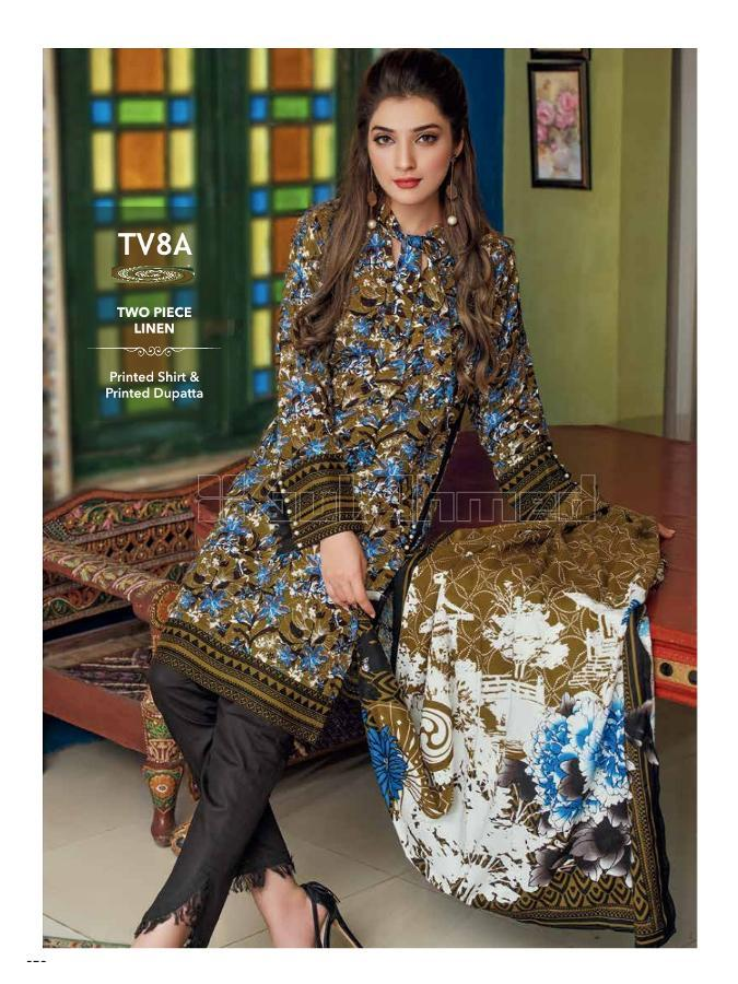 Gul Ahmed Winter 2017 Suit TV8A