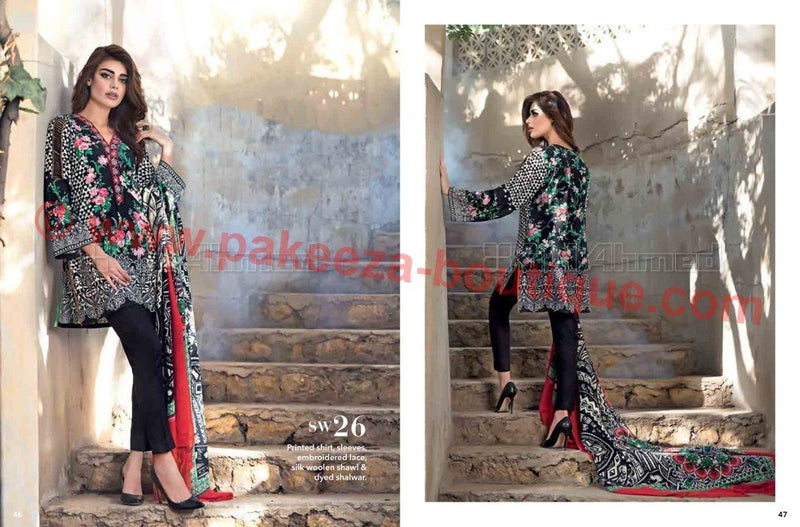 Gul Ahmed Winter Vol2 2016 suit SW26