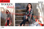Gul Ahmed Winter Vol2 2016 suit SW26 - black colour
