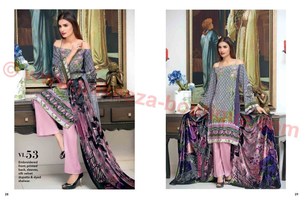 Gul Ahmed Winter Vol2 2016 suit VL-53
