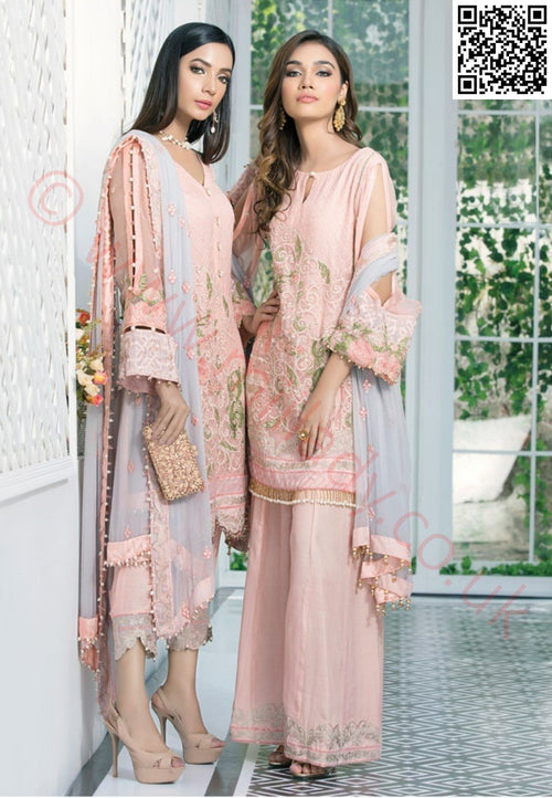 Gulaal Embroidered Chiffon Vol-2 2018 suit GE-02