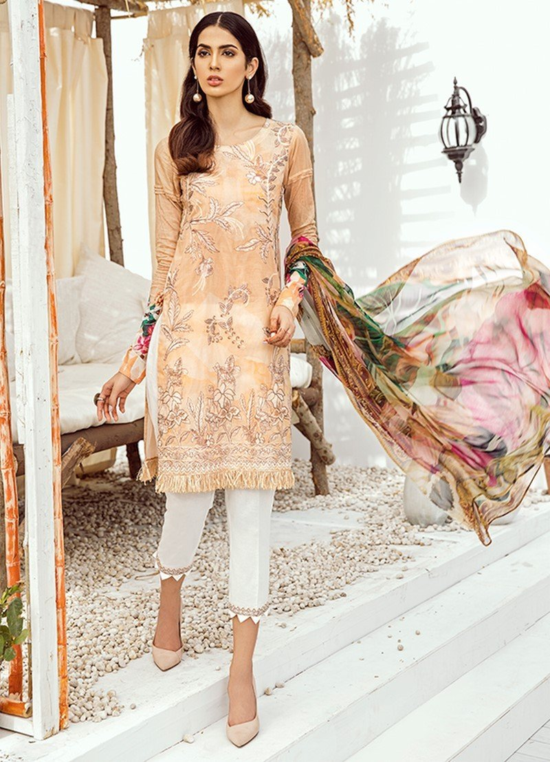 Iznik Chinon Lawn Vol-3 2019 suit ICL-07 Sundress