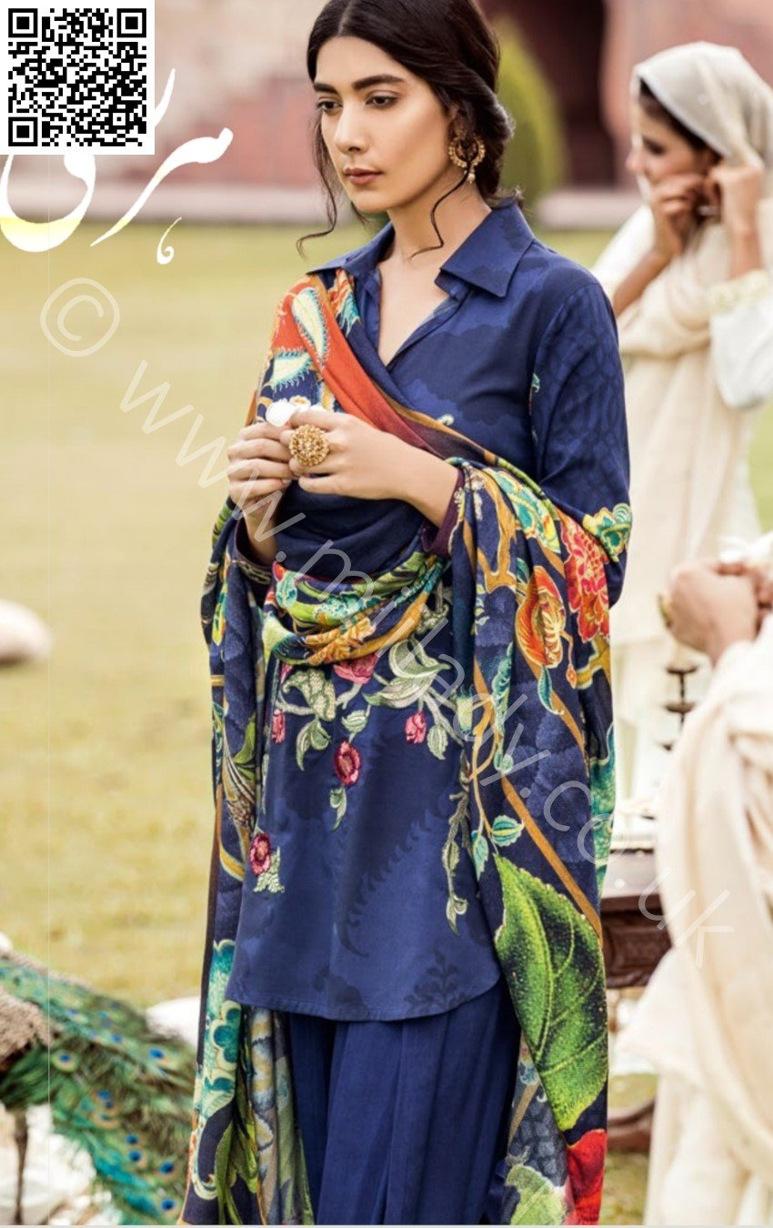 Iznik Linen Winter Midnight Blue 2018 (IW-11)