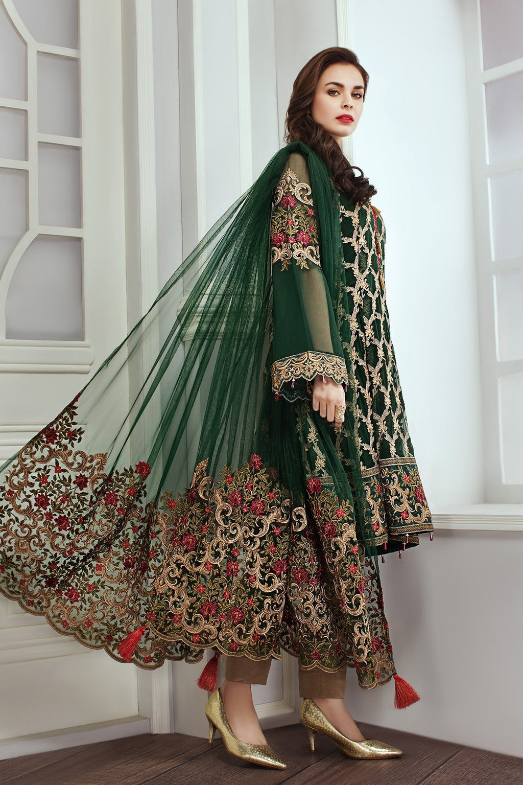 Jazmin by Baroque suit Emerald Dew
