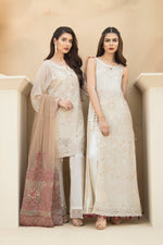 Jazmin Chiffon Vol-4 suit Touch of Terracota