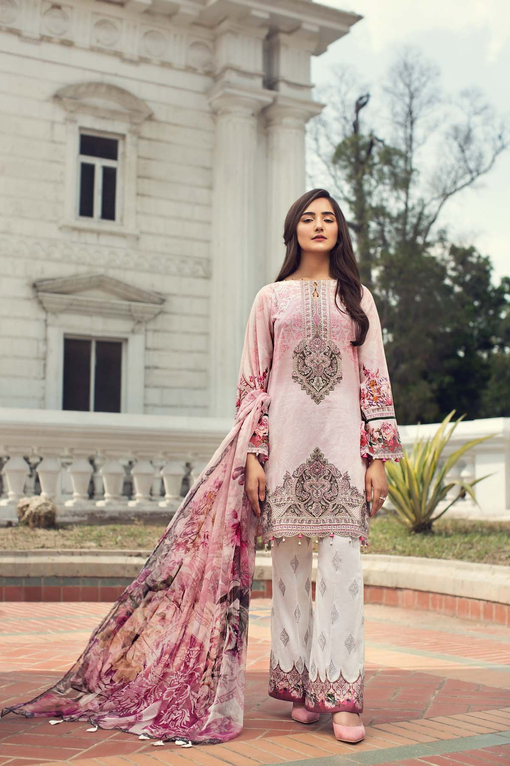 Jazmin IRIS Summer Lawn Collction 2019 suit Liliana