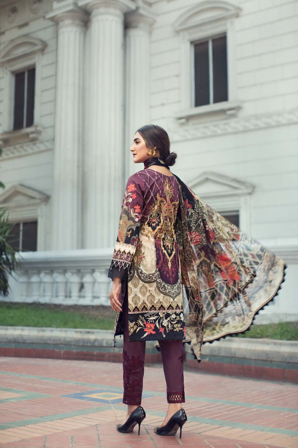 Jazmin IRIS Summer Lawn Collection 2019 suit 04