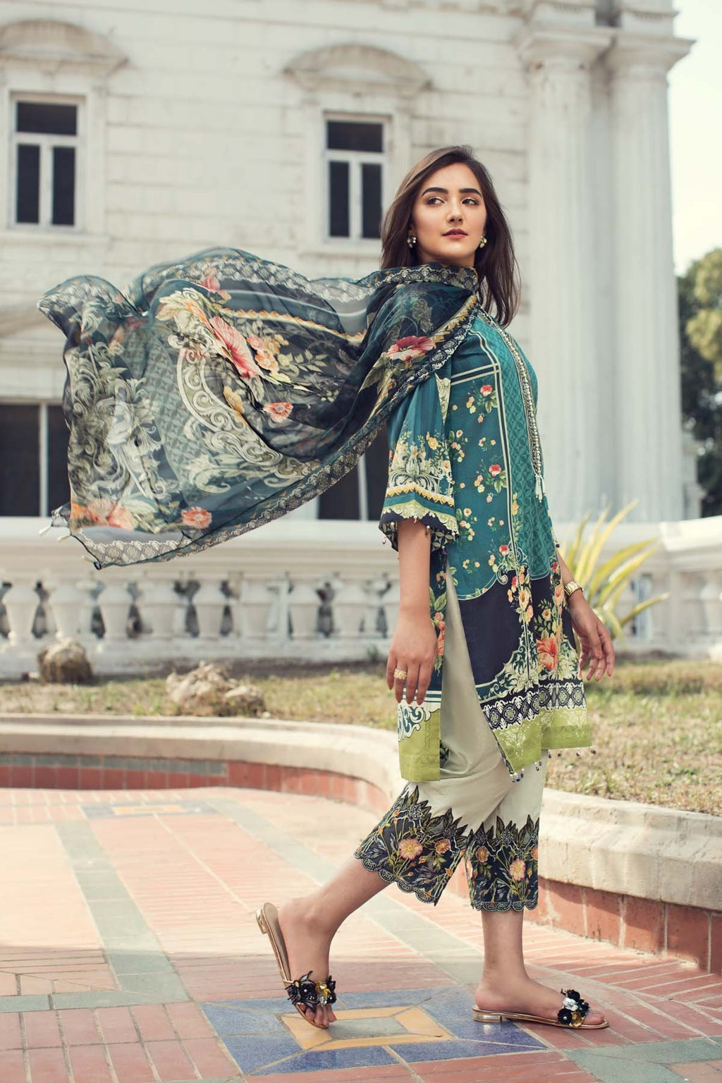 IRIS by Jazmin Summer Lawn Collection 2019 suit Coral Reef