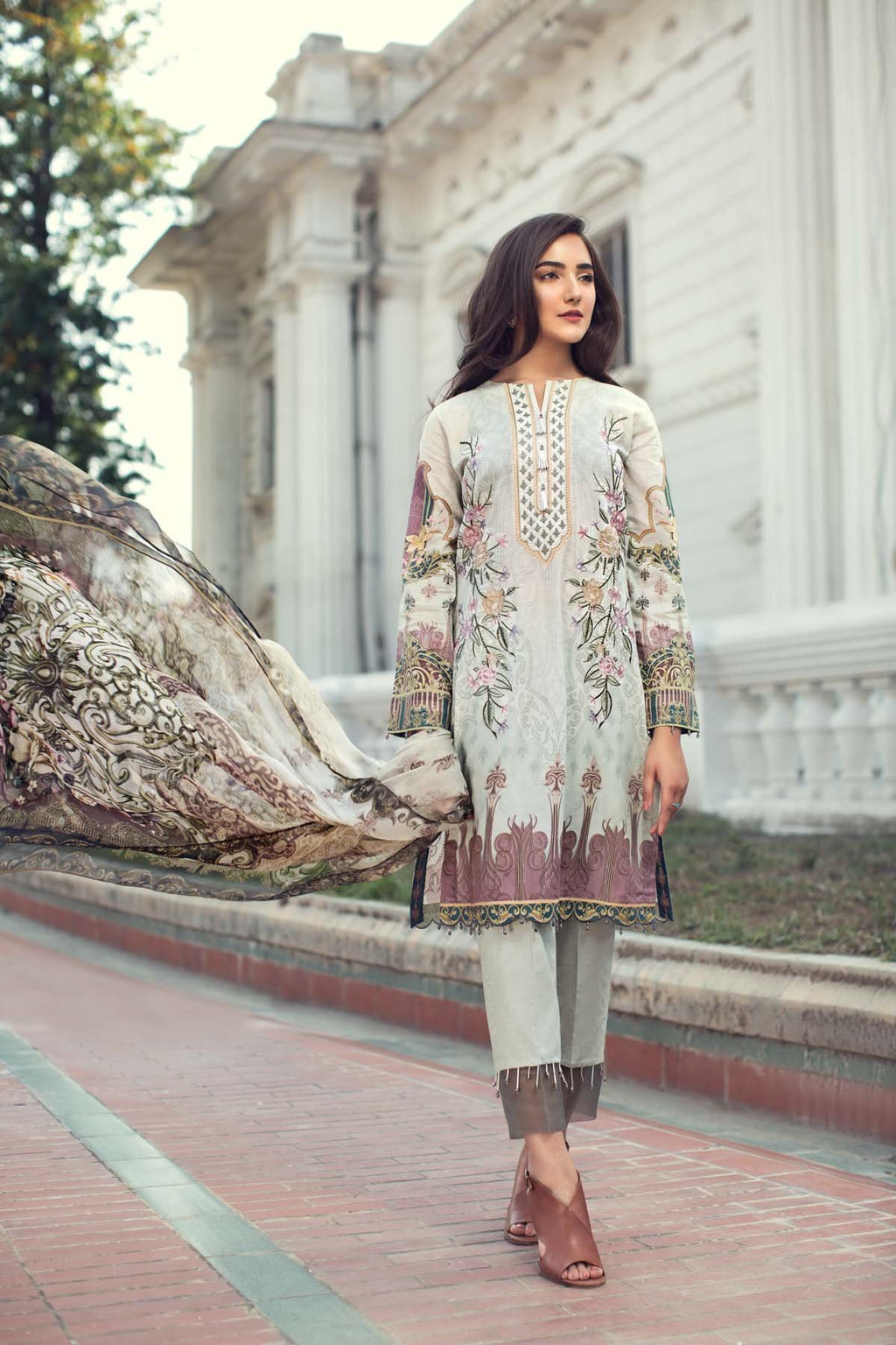 Jazmin IRIS Summer Lawn Collection 2019 suit Fiona