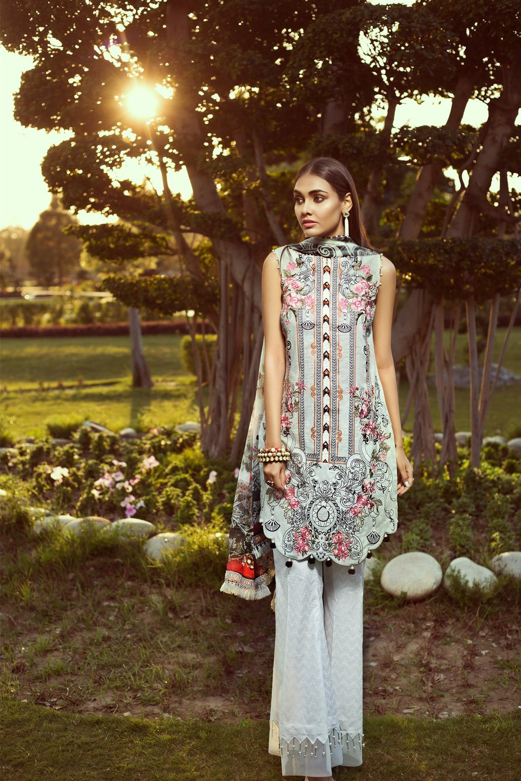 Jazmin Persuit Of Wanderlust Lawn 2019 suit Urban Soul