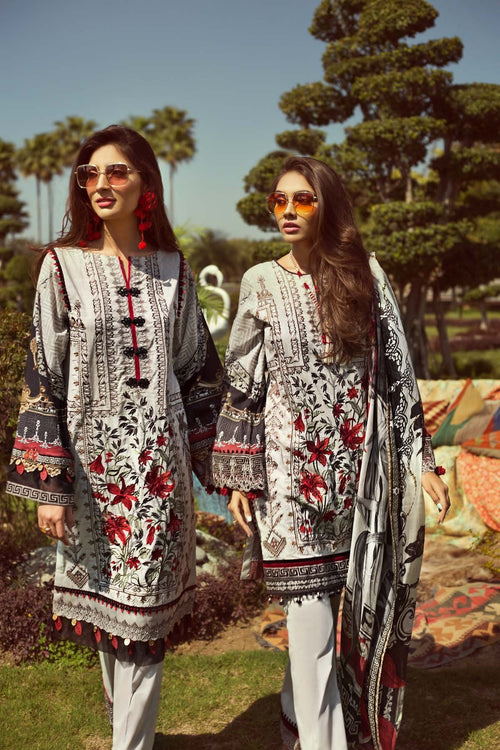 Jazmin Persuit Of Wanderlust lawn 2019 suit Boheme