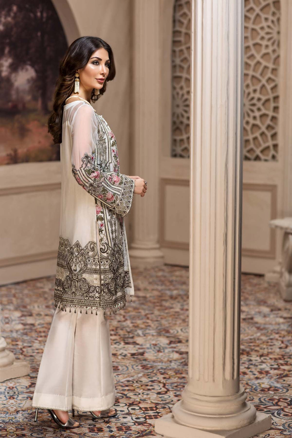 Jazmin SHAHNAMEH Collection 2019 suit Nafeesa