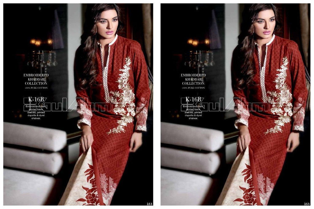 Gul Ahmed Winter/Fall suit K-16B - Pakeeza-Boutique