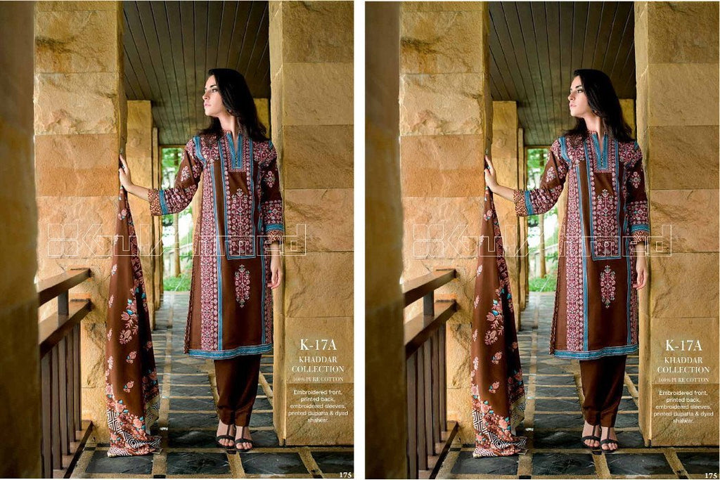 Gul Ahmed Winter/Fall suit K-17A