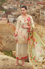 Mahiymaan Luxury Lawn 2018 suit D-11