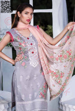 Manizay Premium Embroidered Lawn 2018 Vol2 suit D#05
