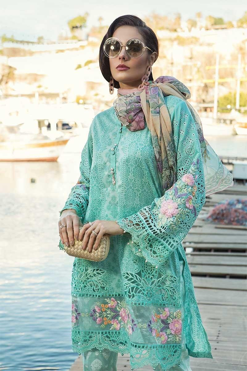 Maria B Voyage dLuxe Lawn 2019 D-1910B