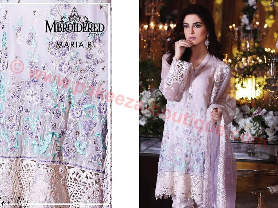 Maria B Embroidered Eid suit BD-1001