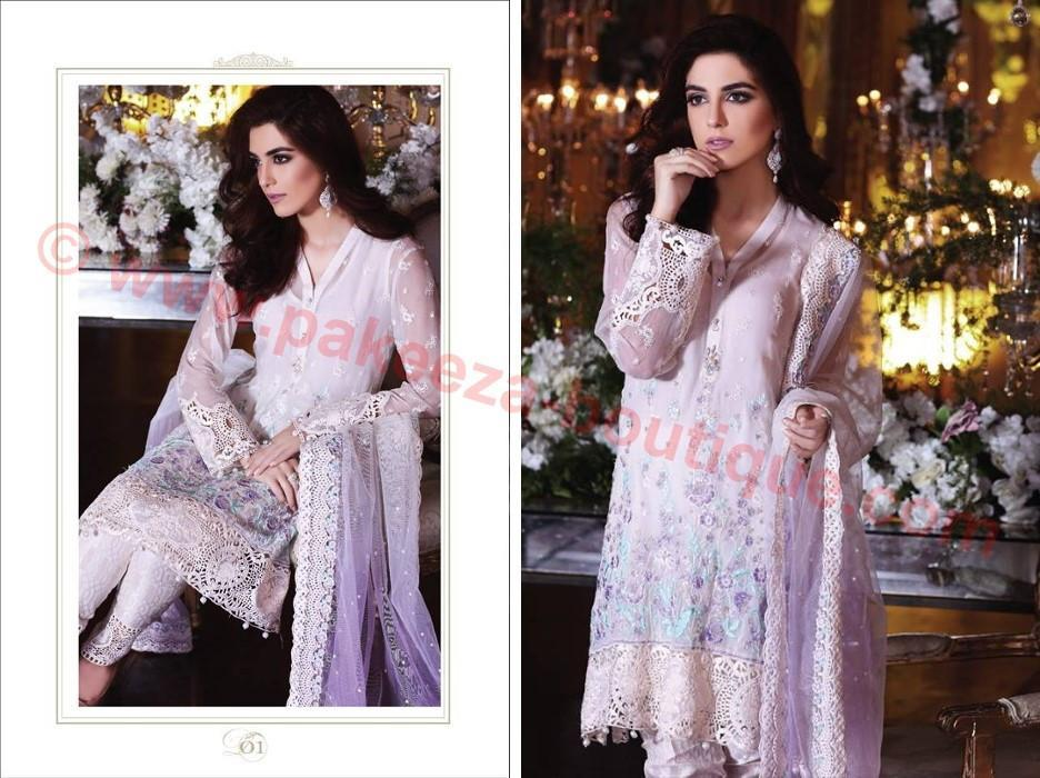 Maria B Embroidered Eid Collection 2017 suit BD-1001