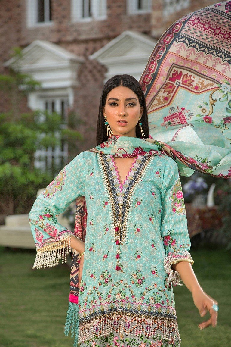 Maryam Rajput Festive Collection 2019 suit Aurora