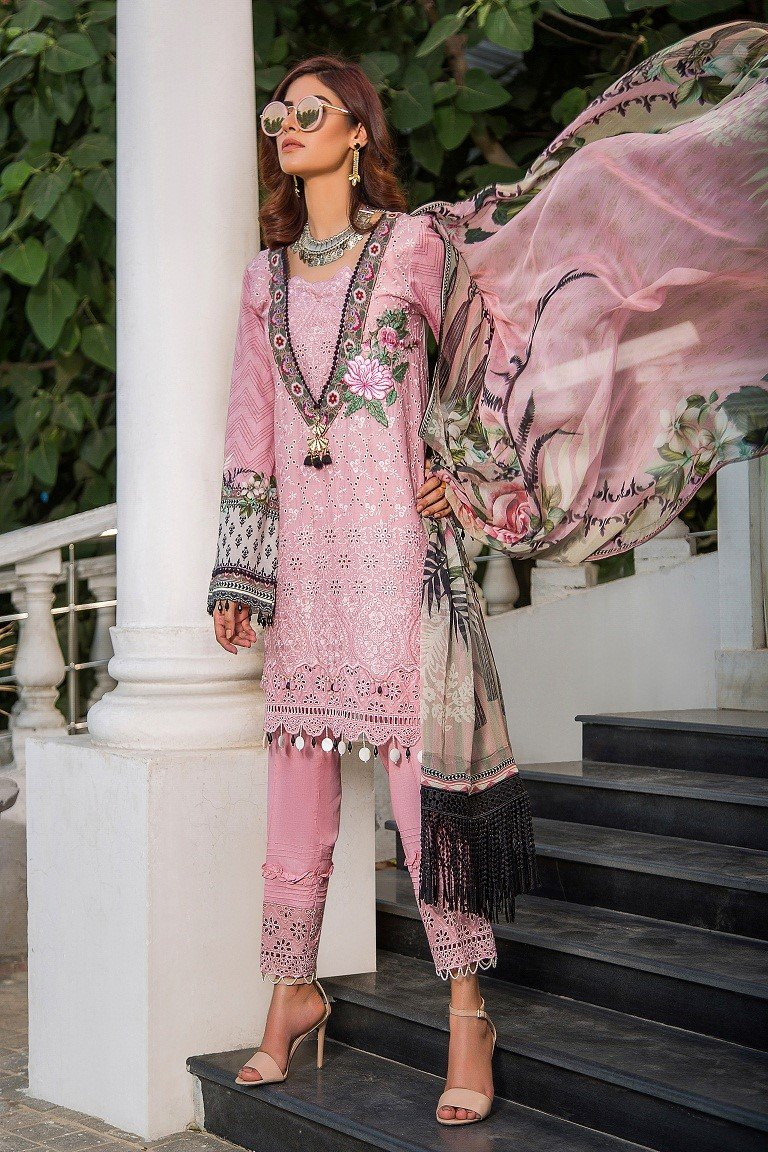 Maryam Rajput Festive Collection 2019 suit Petal Talk
