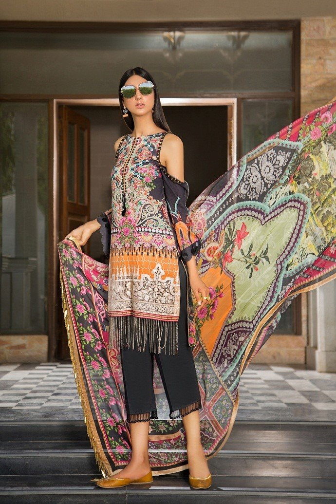Maryam Rajput Festive Collection 2019 suit GENESIS