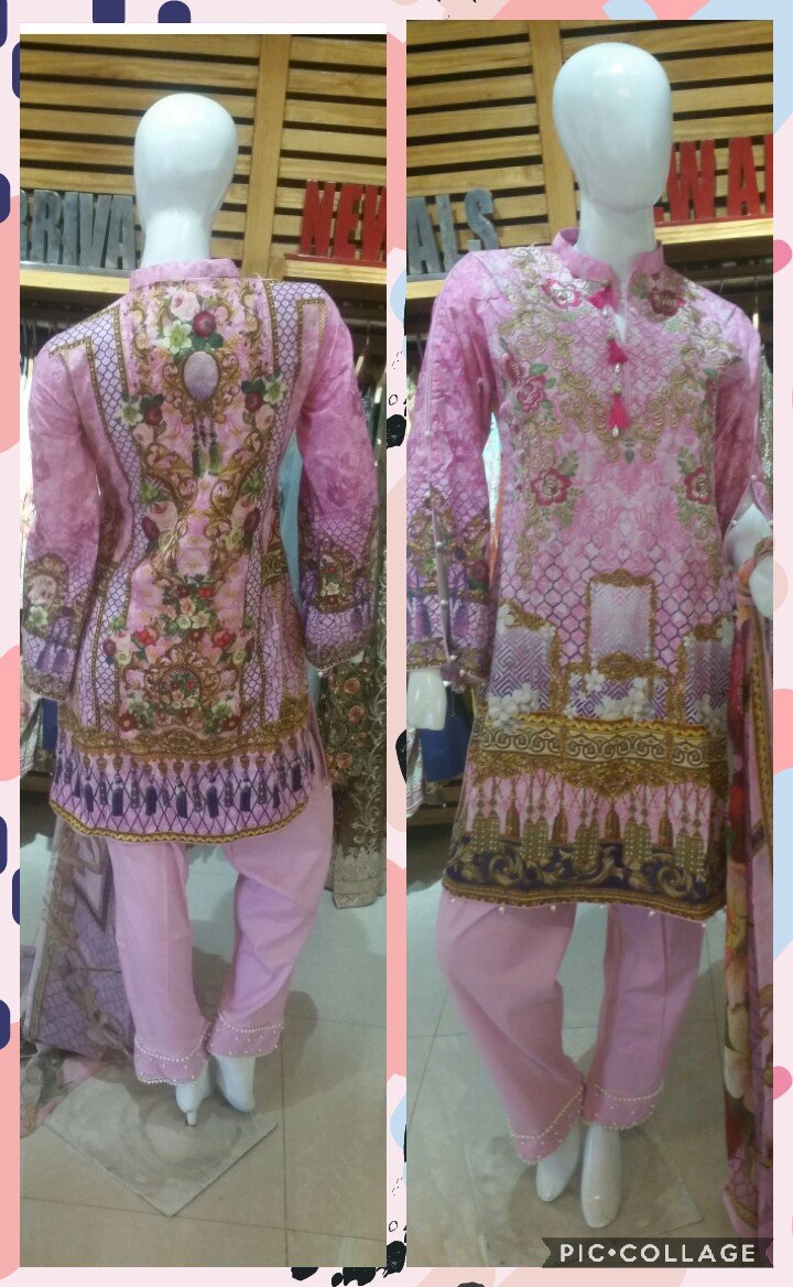 Miilady Lawn Stitched suit MC-CX551