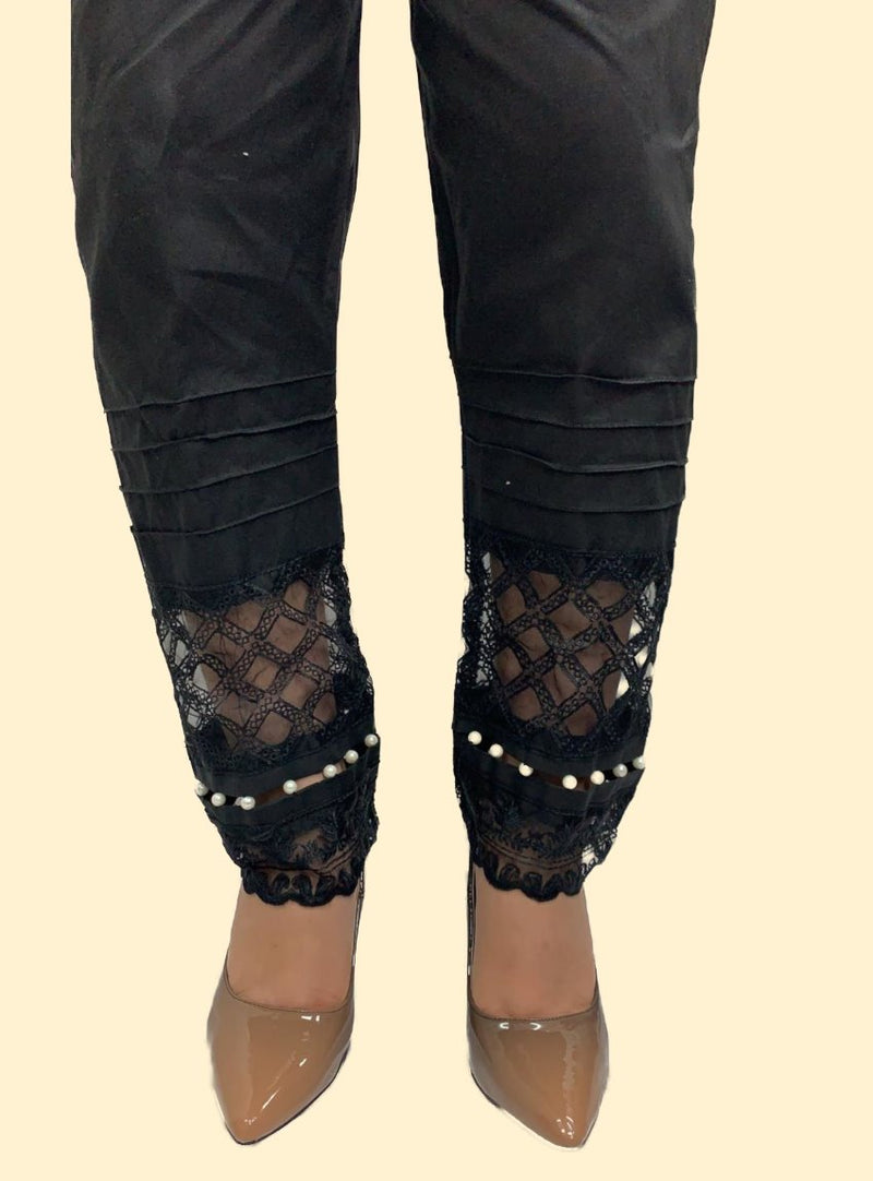 Miilady Black Trouser MT-7861
