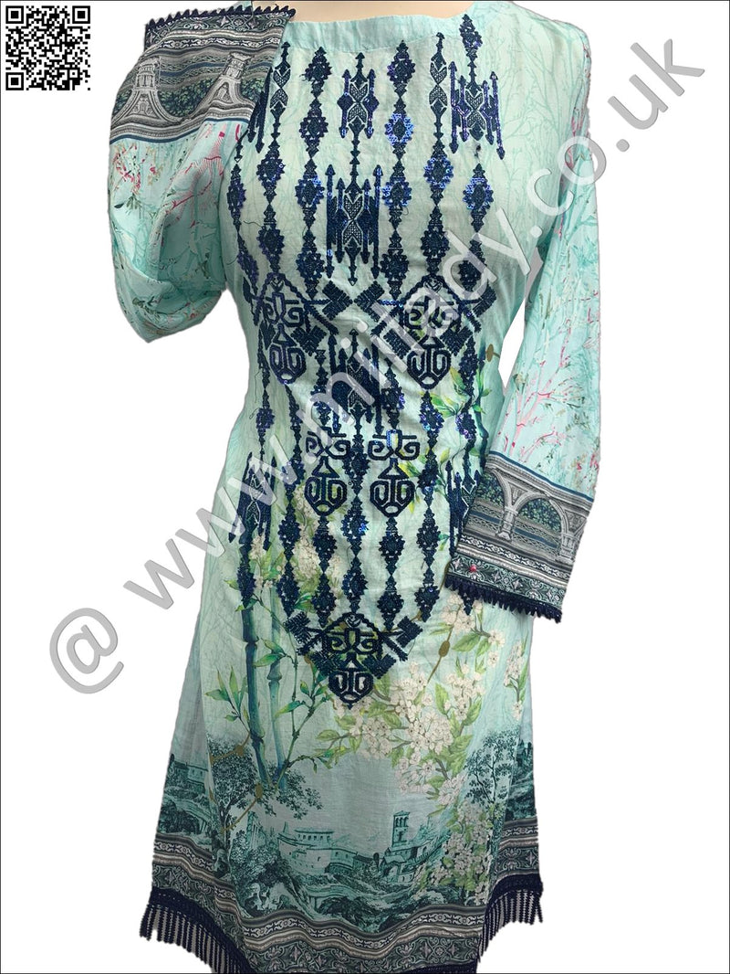 Miilady Ready-to-Wear 2020 Embroidered Kurti LV-11