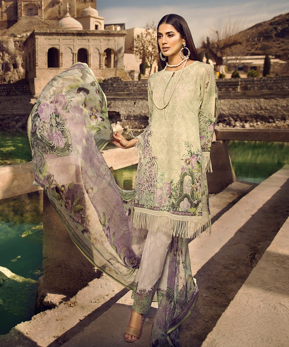 Mohagni Summer Lawn Vol-2 2019 suit MO-09