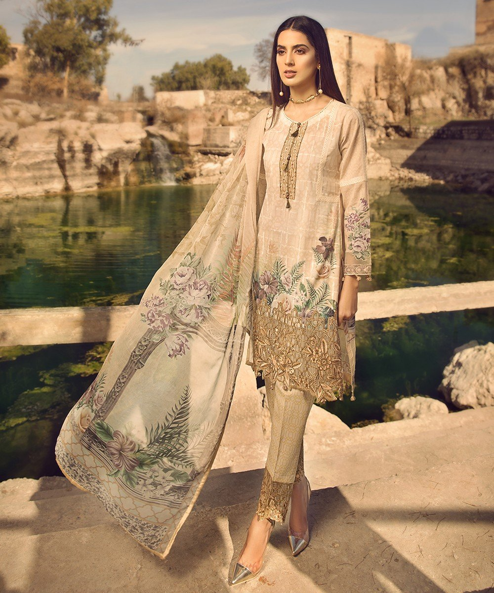 Mohagni Summer Lawn Vol-2 2019 suit MO-10