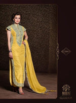 Mohini Princess Banarasi Silk Yellow suit 21004