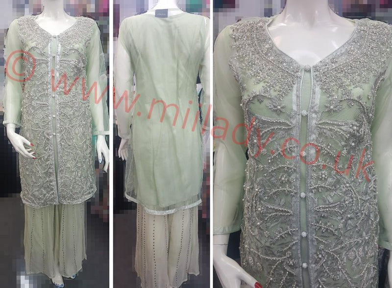 Miilady Fancy Stitched suit MF-0824