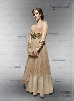 NAKKASHI Fall of Charm Net Beige suit 11016
