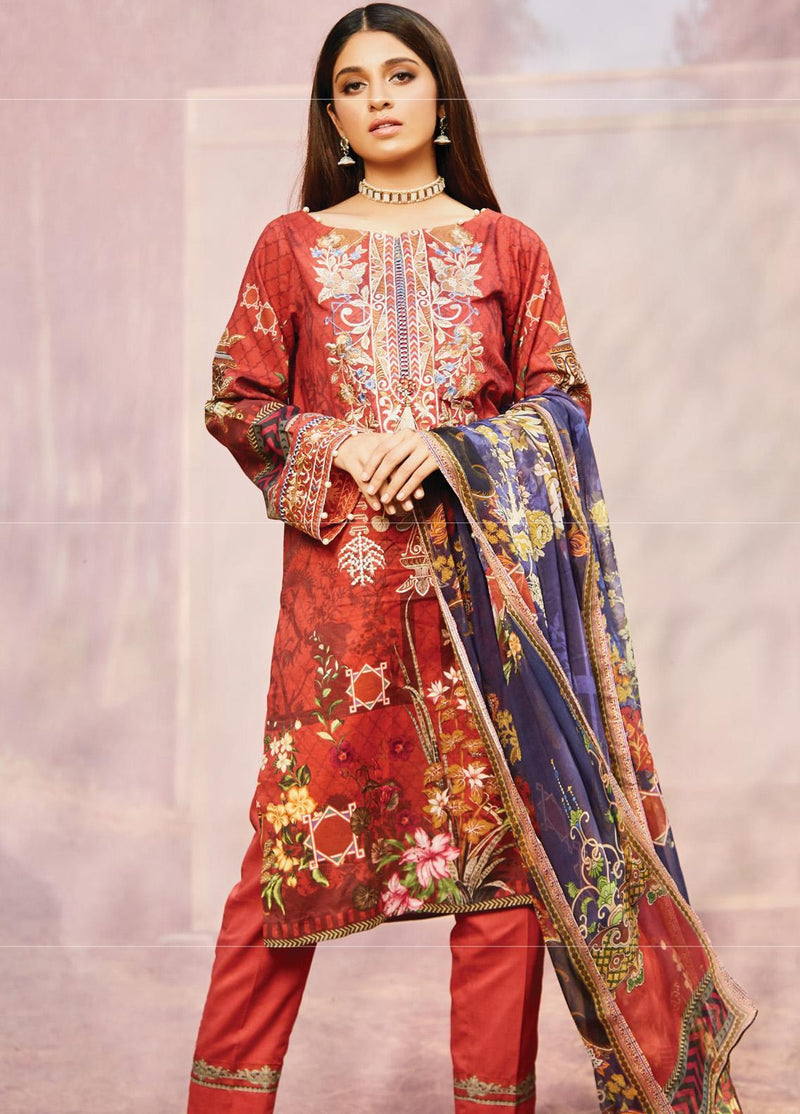 Naqsh by Florent Lawn Collection 2020 suit NQSH-10A