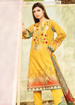Naqsh by Florent Lawn Collection 2020 suit NQSH-7B