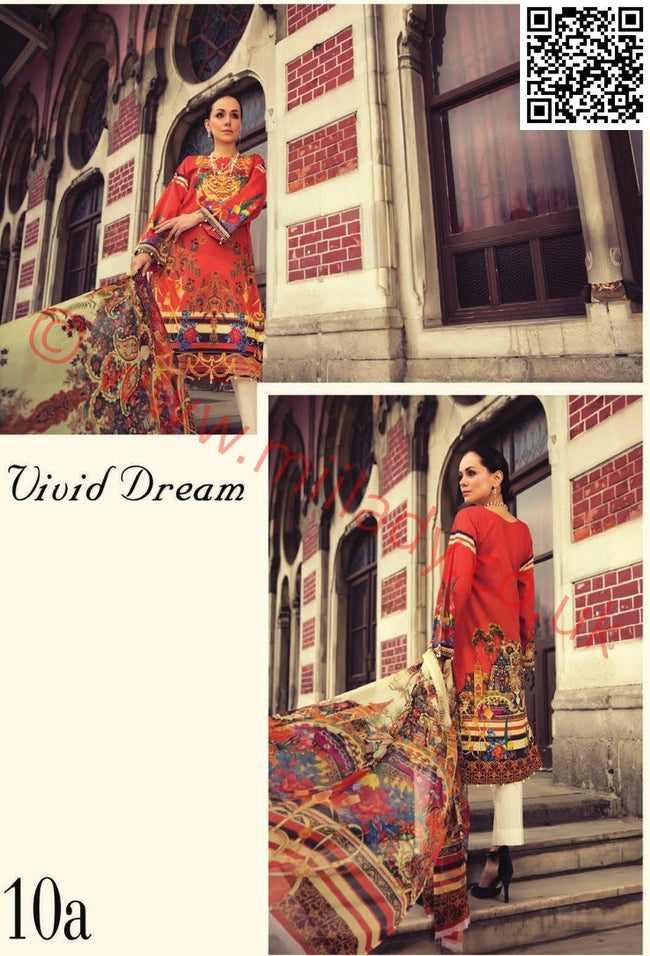 RajBari Luxury Lawn suit 10A