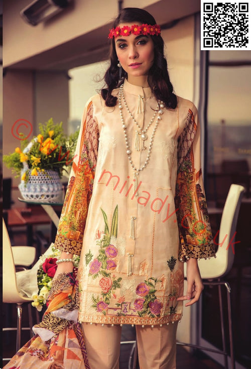RajBari Luxury Lawn 2018 suit 7A