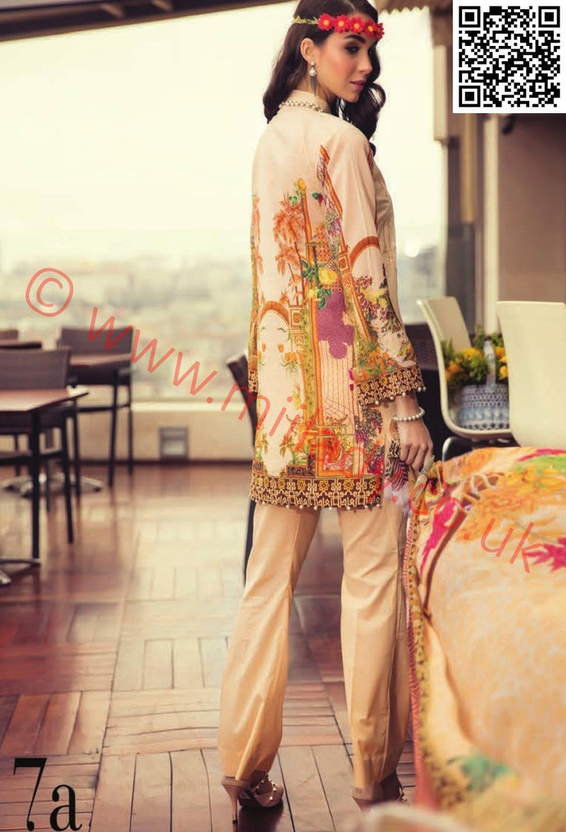 RajBari Luxury Lawn suit 7A