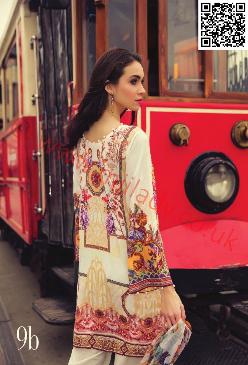 RajBari Luxury Lawn suit 9B