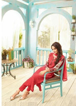 Sahiba Nour suit NR-301 - Embroidered Georgette  shirt, silk bottom and chiffon dupatta