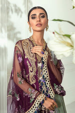 Sana Safinaz NURA 2020 suit E201-001A-CJ - Embroidered Tulle Net shirt with embroidered dupatta