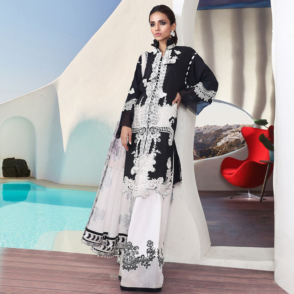 Sana Safinaz Muzlin Luxury 2019 suit - 03A