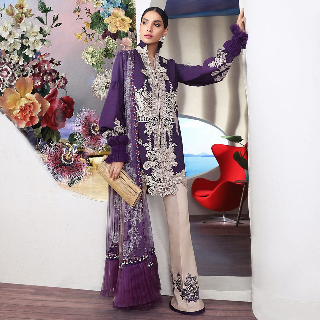 Sana Safinaz Muzlin Luxury 2019 suit - 03B