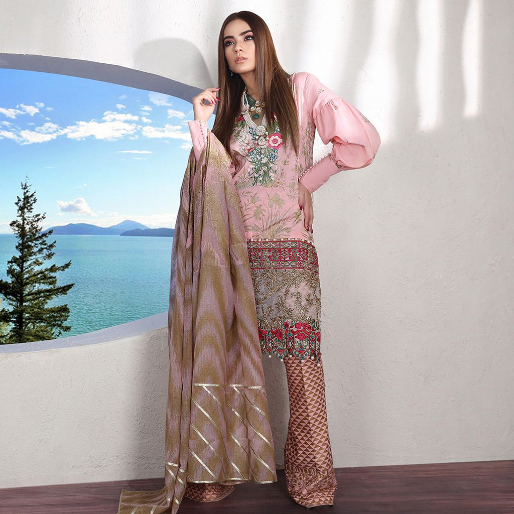 Sana Safinaz Muzlin Luxury 2019 suit - 05B