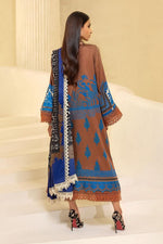 Sana Safinaz Muzlin 2020 Carame colour suit M203-010B-CO